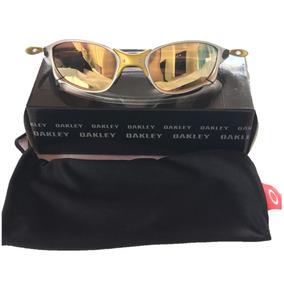 0c13f4293 Oakley Juliet Dourado Original De Sol - Óculos com o Melhores Preços no  Mercado Livre Brasil