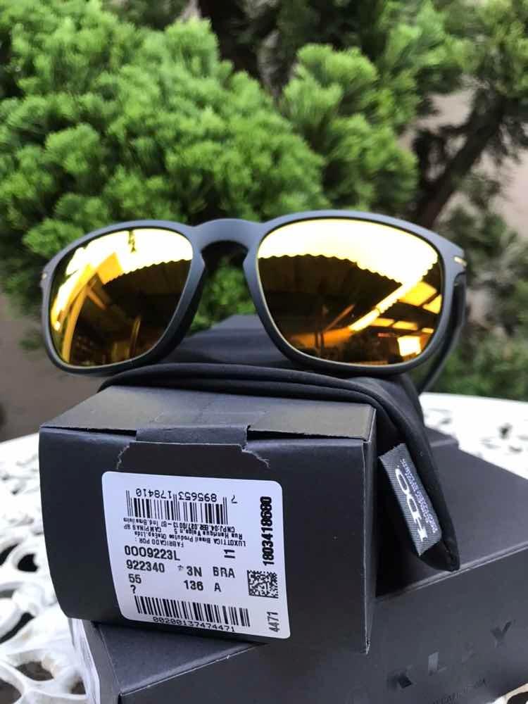 06ca5a3d7b016 óculos de sol oakley enduro special edition preto dourado. Carregando zoom.
