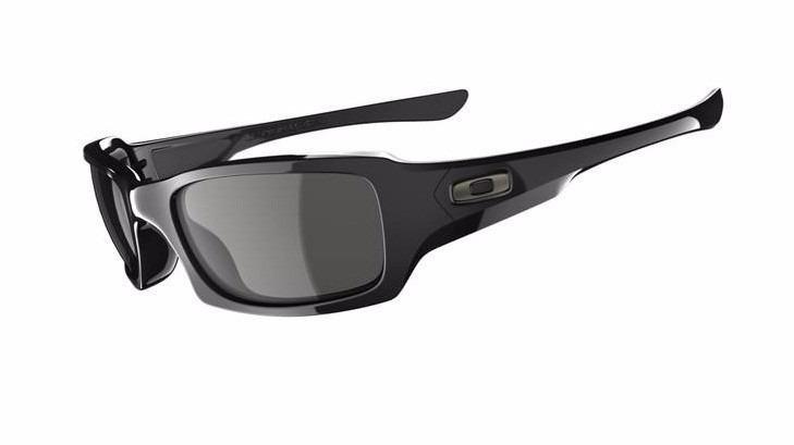 a580806173130 Óculos De Sol Oakley - Fives Squared - Polished Black - P18 - R  519 ...
