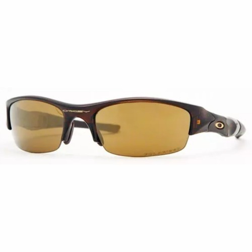 Óculos De Sol Oakley Flak Jacket Marrom Polarizado Original - R  649 ... fb884fe0cc