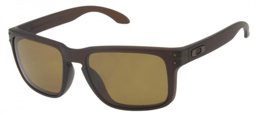 b7fa69f998a51 óculos de sol oakley holbrook marrom masculino polarizado. Carregando zoom.