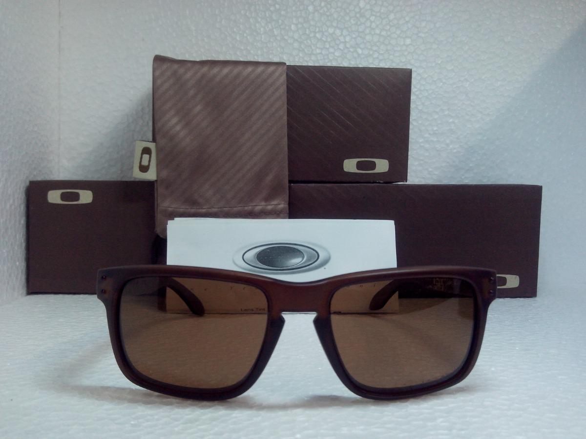 óculos de sol oakley holbrook marrom masculino polarizado. Carregando zoom. e271519ac7
