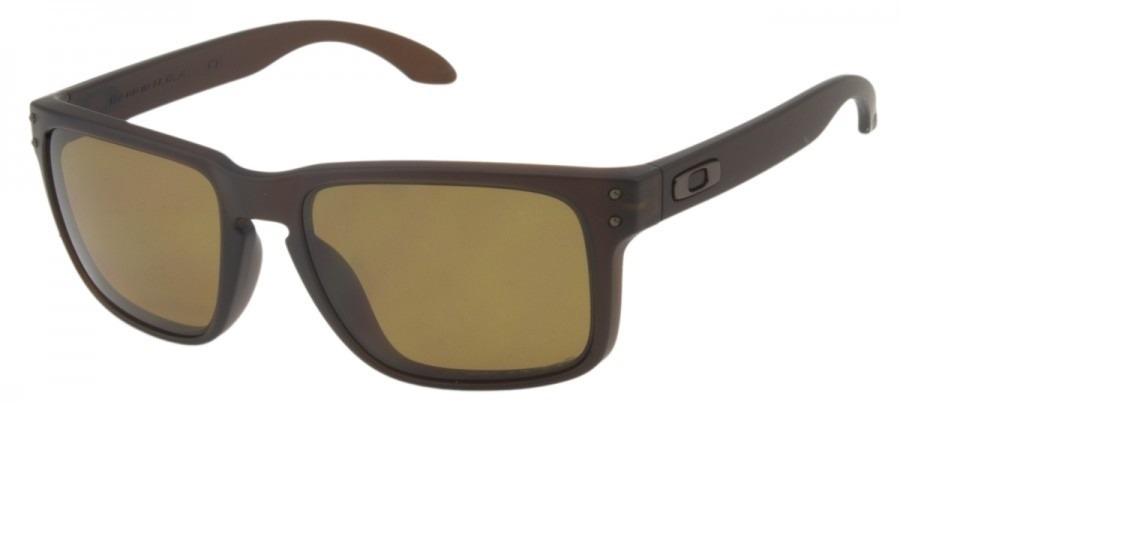 e32d33d7cd759 óculos de sol oakley holbrook marrom masculino polarizado. Carregando zoom.