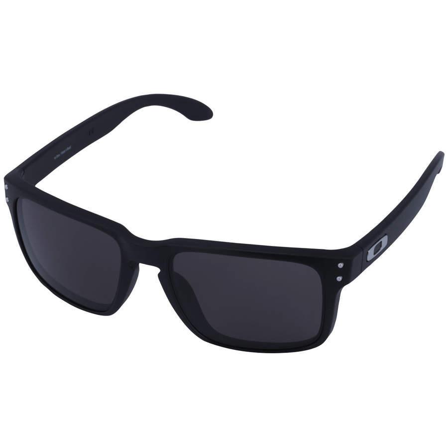 3aff2f9867efa óculos de sol oakley holbrook oo9102 - unissex - preto. Carregando zoom.