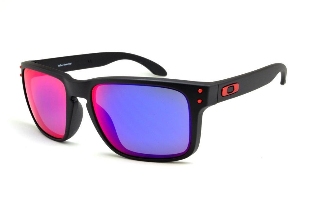 ff824fcc7d Óculos De Sol Oakley Holbrook Oo9102l-36 - R$ 393,00 em Mercado Livre