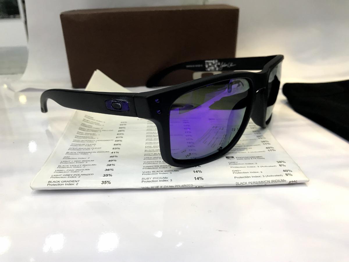 f379334be96c7 óculos de sol oakley holbrook roxo polarizado masculino. Carregando zoom.