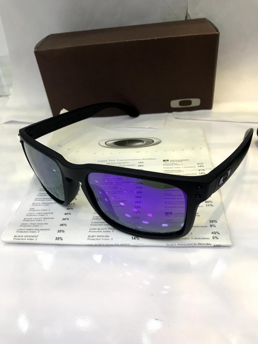 5a24e8029c576 óculos de sol oakley holbrook roxo polarizado masculino. 7 Fotos
