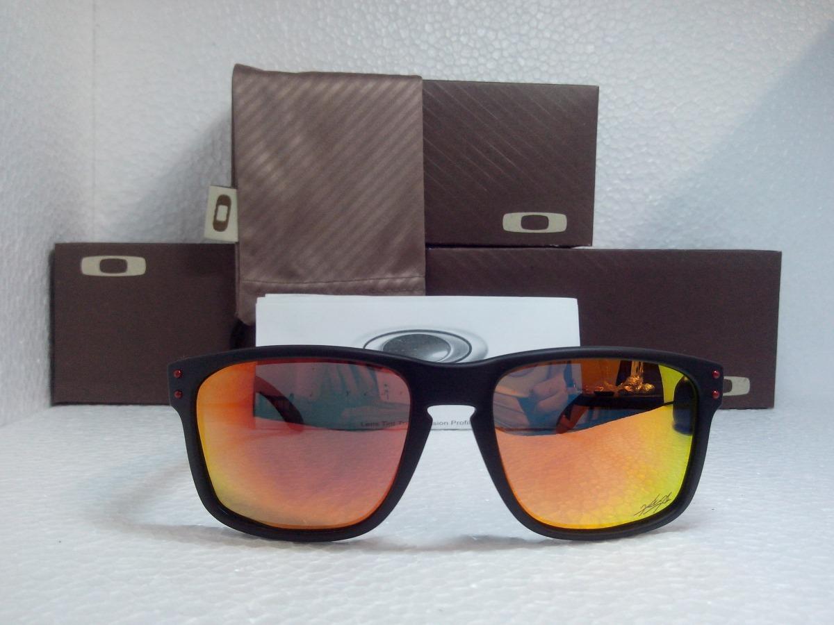 6e63a870b352c óculos de sol oakley holbrook vermelho masculino polarizado. Carregando  zoom.