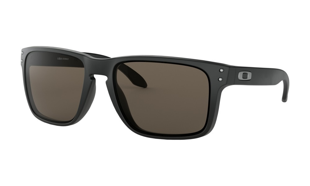 fb5850d6521fa óculos de sol oakley holbrook xl matte black lente cinza. Carregando zoom.