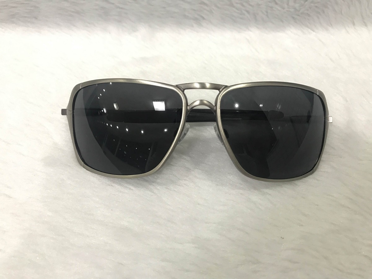 óculos de sol oakley inmate masculino polarizado metal. Carregando zoom. e09b9aa539