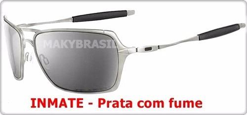 25a13e7dd Óculos De Sol Oakley Inmate Metal Polarizado Metal Unissex - R$ 152 ...