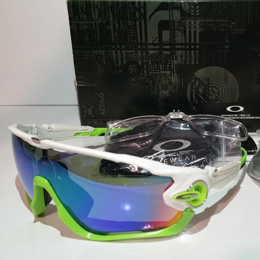 89b2c725741b8 óculos de sol oakley jawbreaker tr 90 ciclismo kit 3 lentes. Carregando zoom .