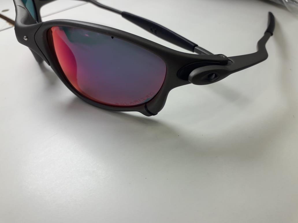 e8b285a7a Óculos De Sol Oakley Juliet 24k Dark Ruby Polarizada - R$ 120,00 em ...