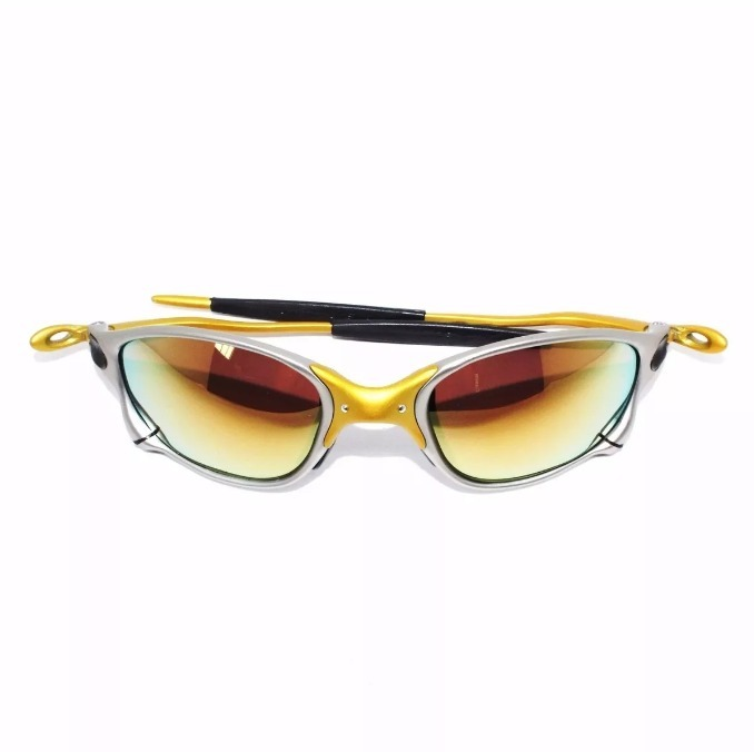 9779ba32da181 Oculos De Sol Oakley Juliet Doble X 24k Polarized Gold - R  100
