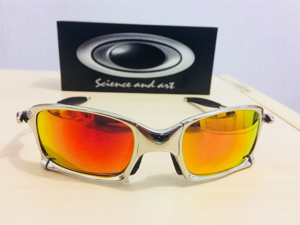 9b9c73aae06da Oculos De Sol Oakley Juliet Squared Rubi Liquidação - R  80,00 em ...