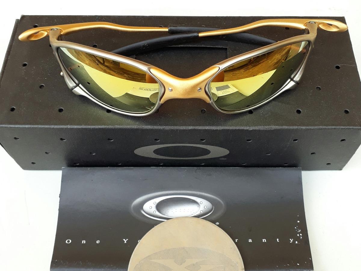 600b7137d ... 42f861b56a3b3 óculos de sol oakley juliet xx 24k edição limitada  original. Carregando zoom.