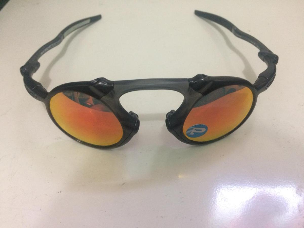 Óculos De Sol Oakley Madman Iridium Original - R  500,00 em Mercado ... 1e5cef7ddc