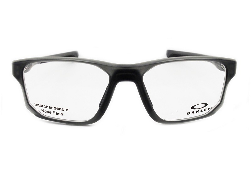 c85945acf64df óculos de sol oakley oph crosslink fit satin grey smoke 8136. Carregando  zoom.