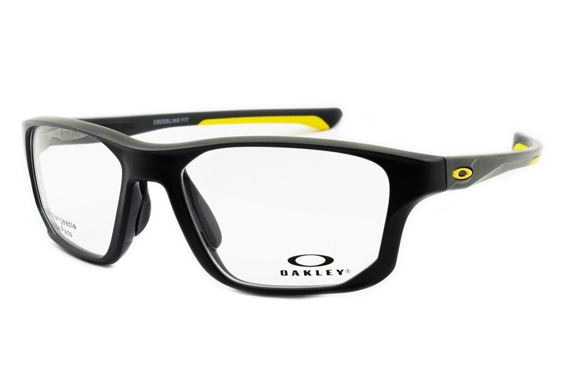 234c1938c1f65 óculos de sol oakley oph crosslink fit satin pavement ox8136. Carregando  zoom.