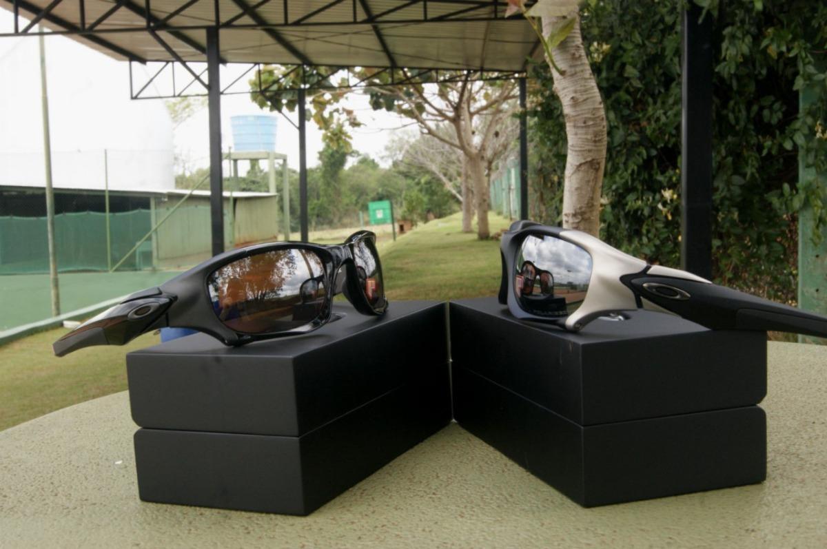 16885fff0 óculos de sol oakley pit boss 2 preto polarizado original. Carregando zoom.