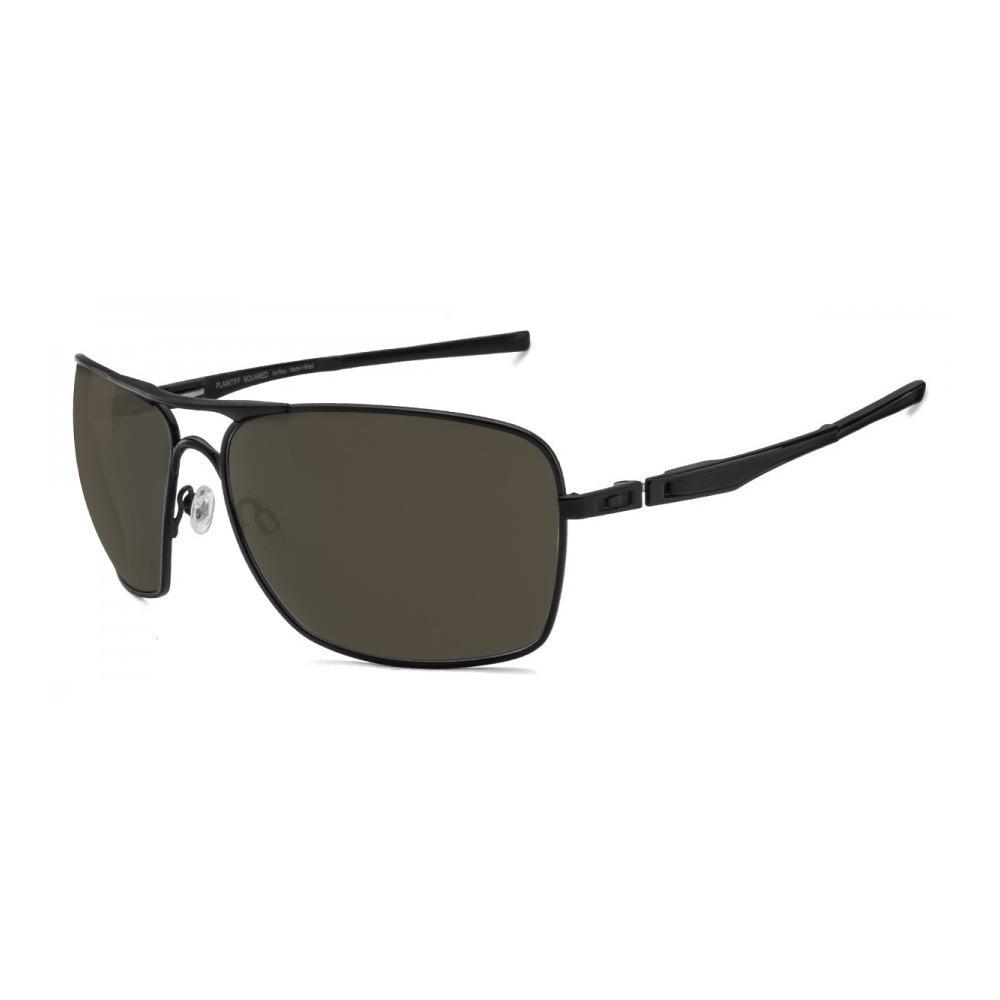 5327ff0c5ffbd Óculos De Sol Oakley Plaintiff Squared Oo4063l-01 - R  622,00 em ...