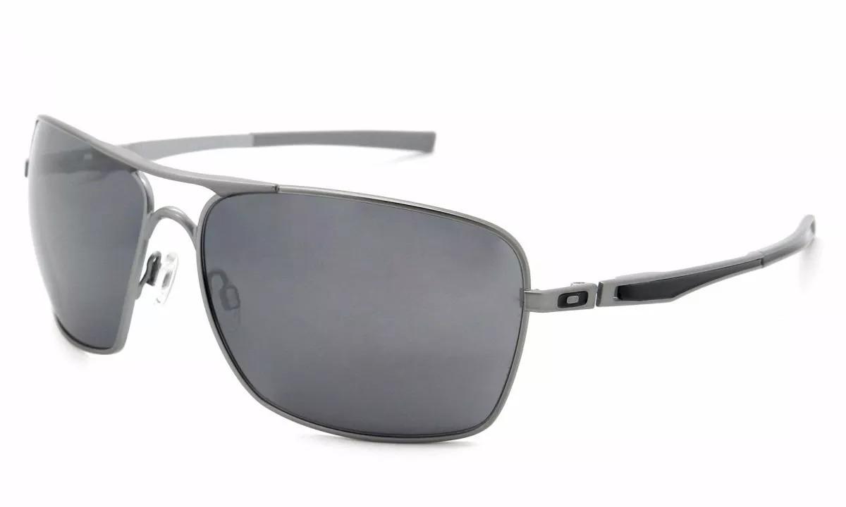 Óculos De Sol Oakley Plaintiff Squared Oo4063l-03 L3 - R  549,00 em ... 588f203181
