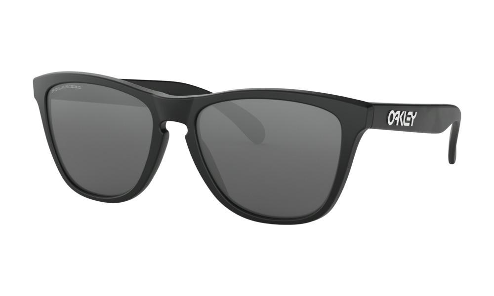 11139d9c5e1de óculos de sol oakley polarizado preto fosco frogskins 24-297. Carregando  zoom.