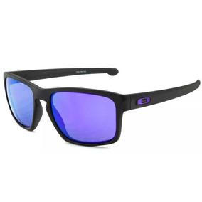 cb414585b Óculos Oakley Crankcase Matte Black Violet Iridium De Sol - Óculos no  Mercado Livre Brasil