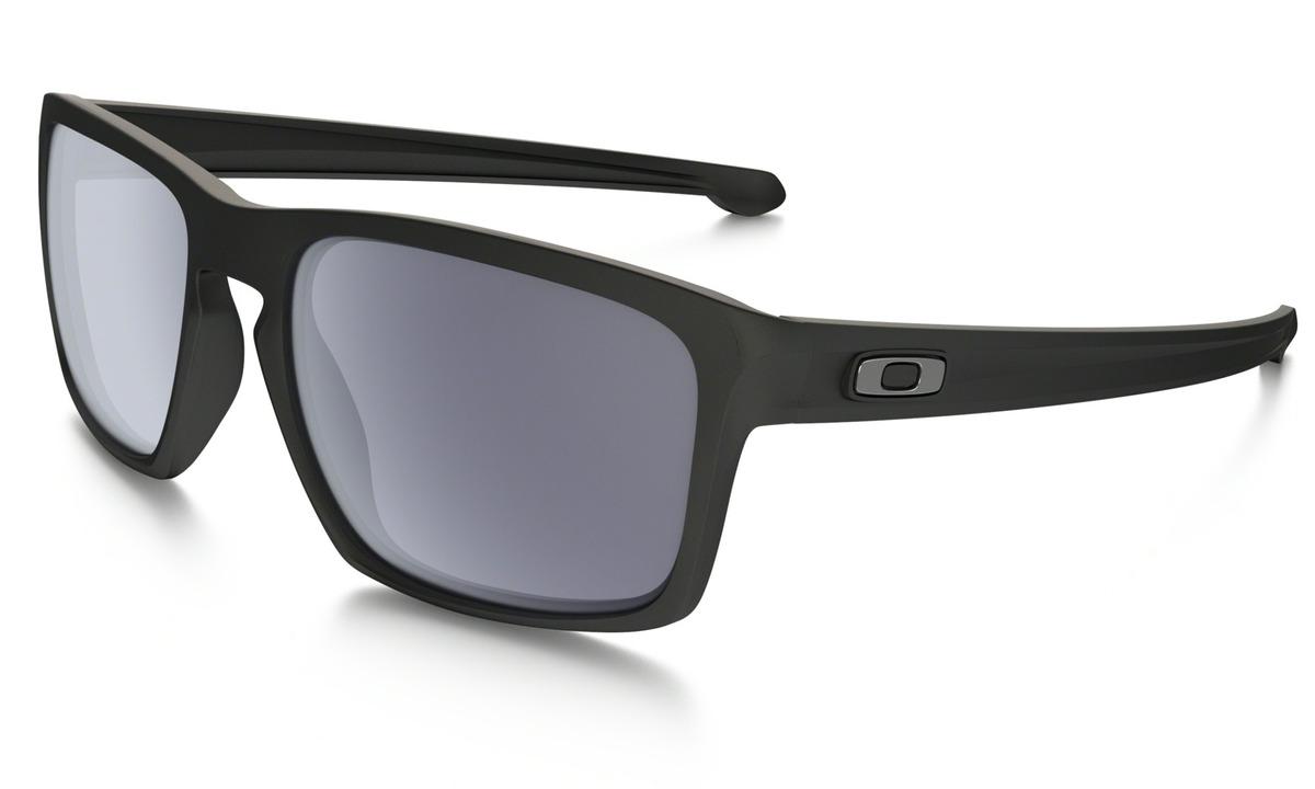 7551ec603 Óculos De Sol Oakley Sliver Matte Black W/ Grey - R$ 469,90 em ...
