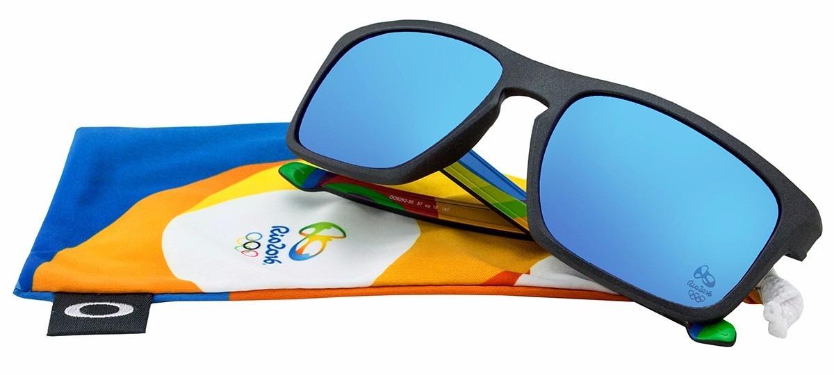 3debf5173bebc Óculos De Sol Oakley Sliver Olímpiadas Rio 2016 Oo9262-35 L1 - R ...