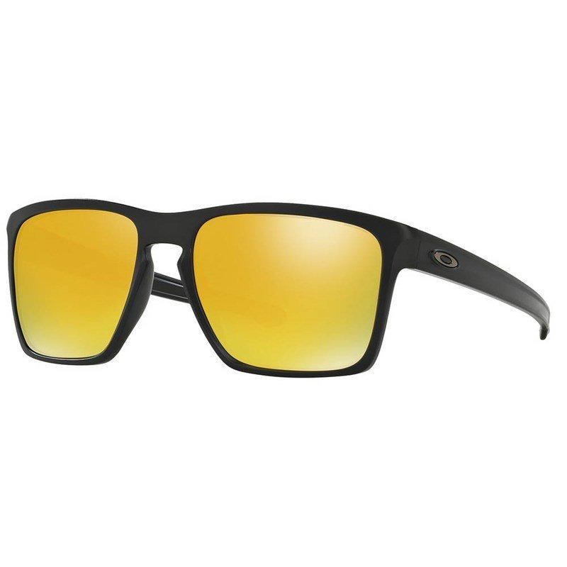 bb83bb8c9099b óculos de sol oakley sliver xl matte black 24k iridium. Carregando zoom.