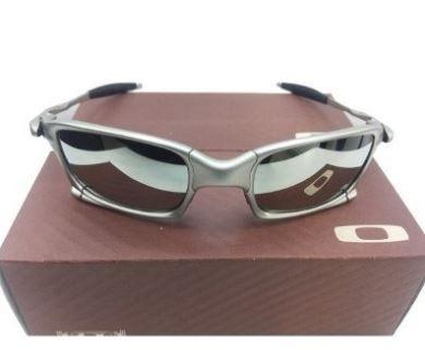 aa50797ded614 Oculos De Sol Oakley Squared Prata Espelhada Barato - R  99