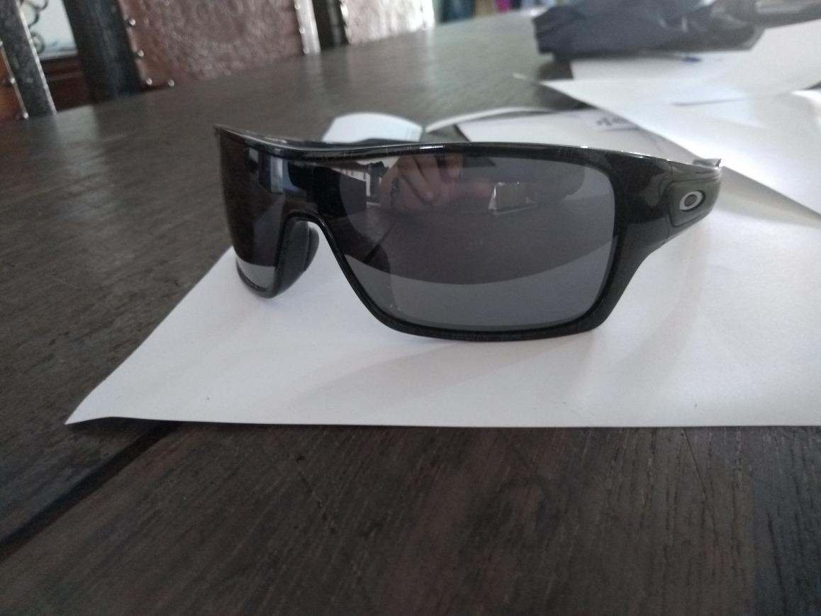 8eb275ddcce27 óculos de sol oakley turbine rotor black ghost iridium. Carregando zoom.