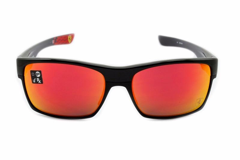 c1d15e49910d0 óculos de sol oakley twoface polished black ferrari oo9189. Carregando zoom.