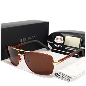 Óculos De Sol Oley Masculino Modelo Y7613 Esportivo Clássico