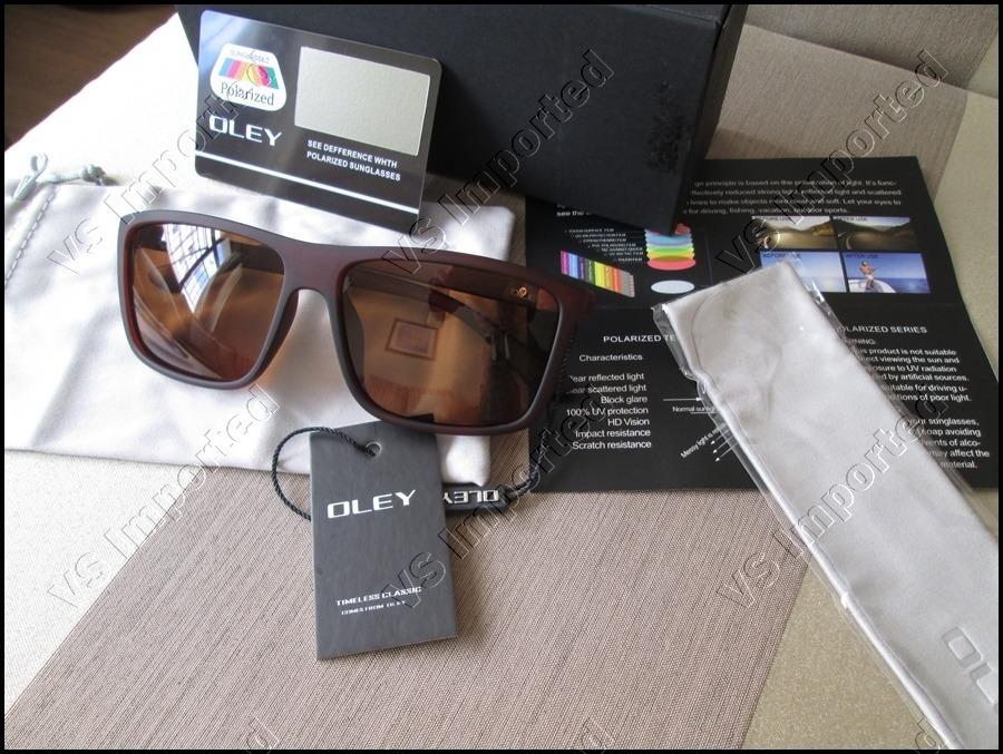 35f398f2c Óculos De Sol Oley - Polarizado E Uv400 - R$ 145,60 em Mercado Livre
