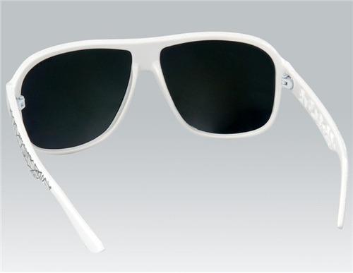 óculos de sol oreka lente espelhada dourada - frete grátis!