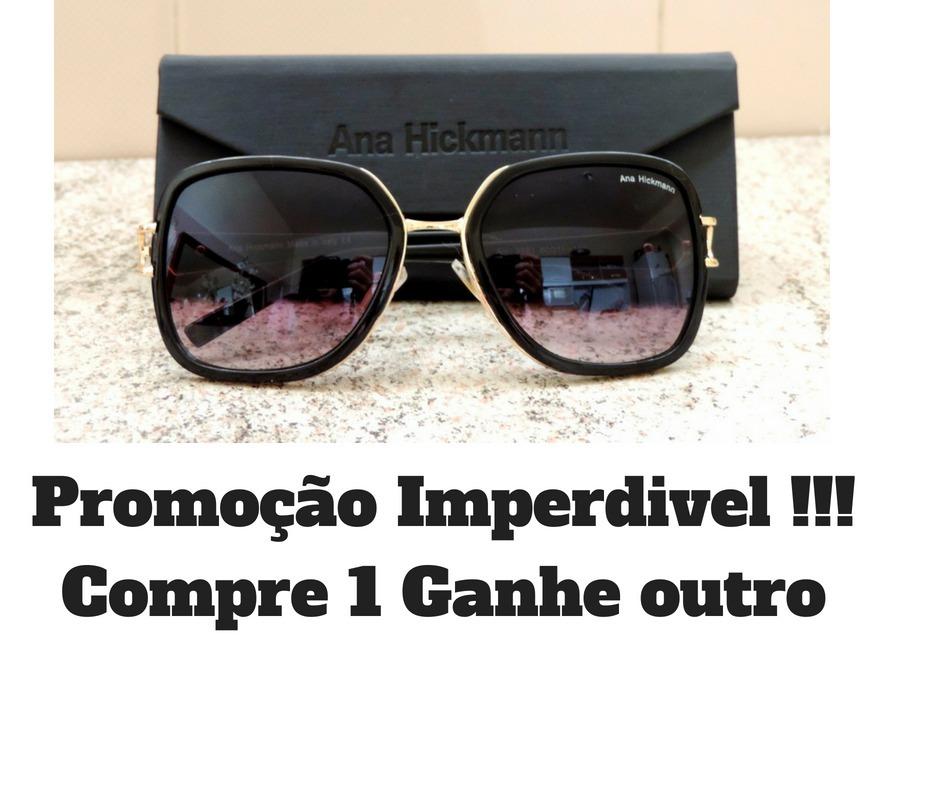 Oculos De Sol Original Ana Hickman Feminino Pronta Entrega - R  117 ... 8806a76667