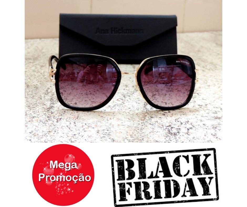 1398d8b2a1188 Oculos De Sol Original Ana Hickman Oferta Black Friday - R  45,00 em ...