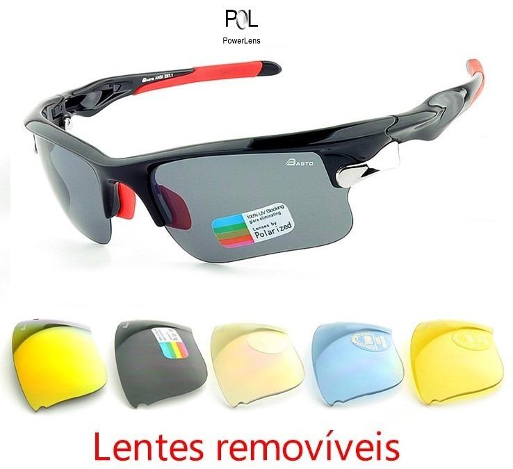 ae054beb58403 Óculos De Sol Para Ciclistas - R  380,00 em Mercado Livre