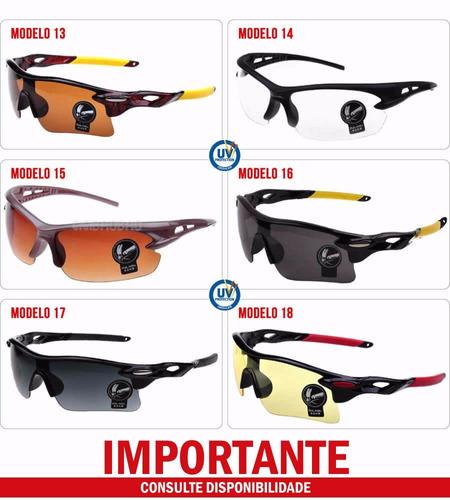 d132f7515 Óculos De Sol Para Esporte Óculos Esportivo Masculino Uv400 - R$ 22 ...