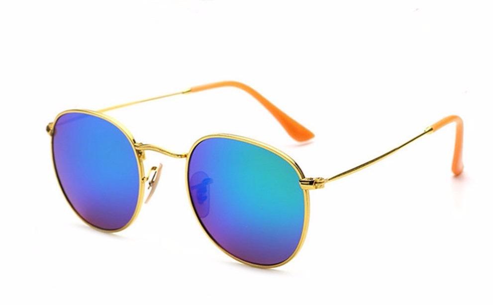 2370b8b5b2959 óculos de sol para mulher aviador dourado lente azul lindo. Carregando zoom.