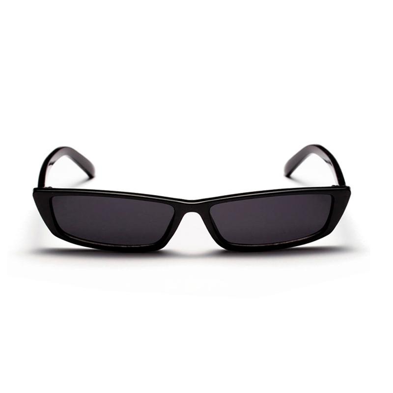 34c068d28 óculos de sol pequeno vintage retrô preto quadrado uv400. Carregando zoom.