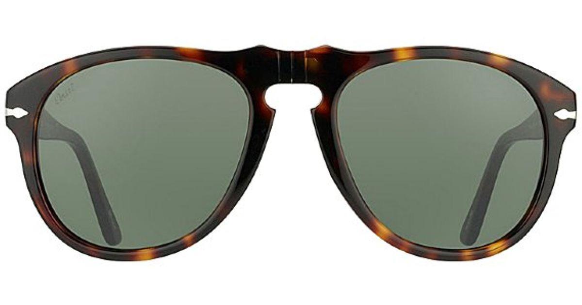 f18f592418fe4 Óculos De Sol Persol Po0649 24 57 Polarizado 54x20 140 - R  685,00 ...
