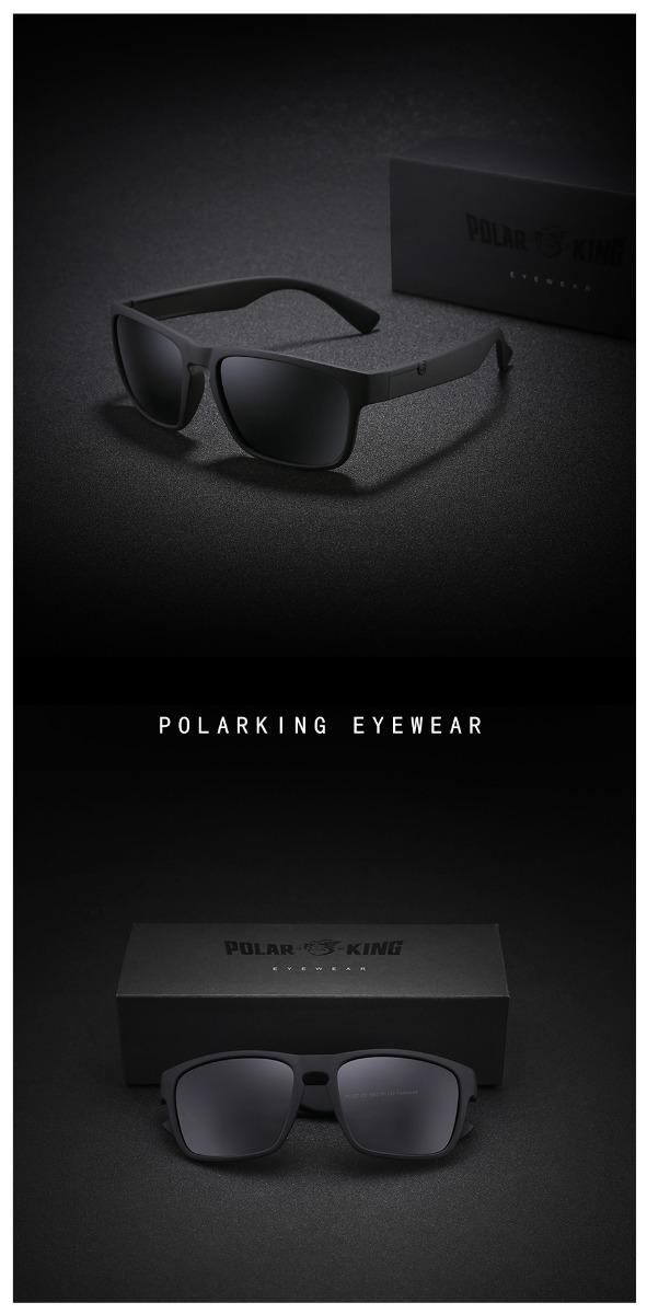 8363e68a967b6 Óculos De Sol Polar King Lente Polarizada Proteção Uv400 - R  69