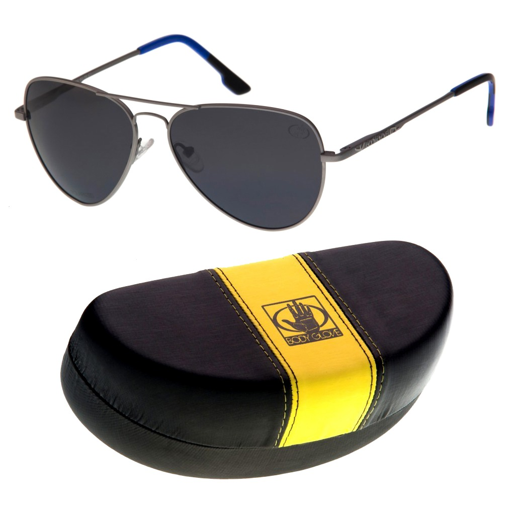 óculos de sol polarizado 100% uva uvb a-b masculino aviador. Carregando  zoom. 9b84521c99