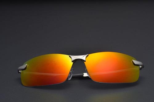 oculos de sol polarizado aviador esportivo espelhado uv 400
