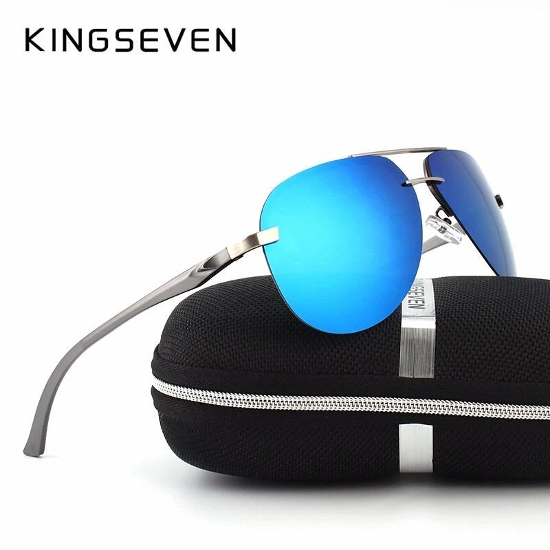 óculos de sol polarizado aviador lentes polarizadas uva uvb. Carregando  zoom. b075e542bc