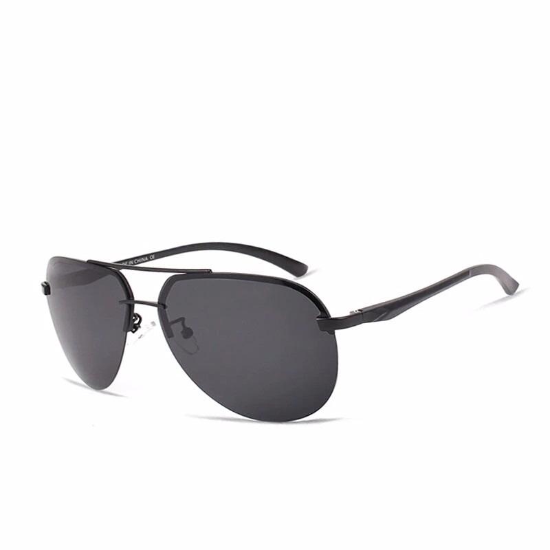 efab7cf41 óculos de sol polarizado aviador lentes polarizadas uva uvb. Carregando zoom .