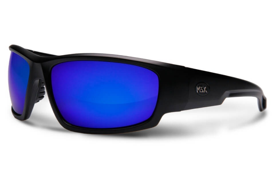 dca1d00f95946 óculos de sol polarizado black monster 3x lente azul. Carregando zoom.